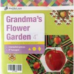 "Grandmas Flower Garden Template Set -4"" hexagon size by Matilda's Own Quilt Blocks - OzQuilts"