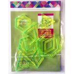 Matilda's Own Mini Hexagons Patchwork Template Set