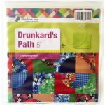 "Matilda's Own Drunkards Path 5"" Patchwork Template Set by Matilda's Own Quilt Blocks - OzQuilts"