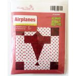 Matilda's Own Airplanes Patchwork Template Set by Meredithe Clark Quilt Blocks - OzQuilts