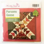 Matilda's Own Parsons Geese Patchwork Template Set by Meredithe Clark Quilt Blocks - OzQuilts