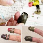 Open Sided Adjustable Thimble - Small by OzQuilts Thimbles - OzQuilts