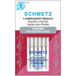 Schmetz Chrome Embroidery Needle  Size 75/11 by Schmetz Sewing Machines Needles