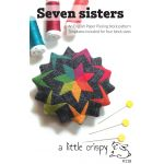 Seven Sisters English Paper Piecing Pattern by  EPP Patterns, Kits & Books