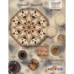 Celestial Snowfall Pattern & Foundation Papers by Quiltworx Patterns & Foundation Papers - OzQuilts