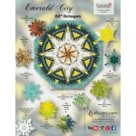 Emerald City Pattern & Paper Foundations by Quiltworx Patterns & Foundation Papers - OzQuilts