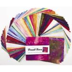 "Fossil Fern Charm Pack 100  5 inch Squares by Benartex 5"" Squares - OzQuilts"