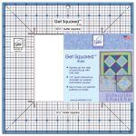 June Tailor Get Squaredª Ruler , 12 1/2Ó Outer, 6 1/2Ó Inner by June Tailor Square It Up Rulers - OzQuilts