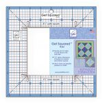 "June Tailor Get Squared™ Ruler - 8 1/2"" Outer, 4 1/2"" Inner"