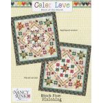 Color Love Complete Block of the Month Pattern by Nancy Rink Designs Applique - OzQuilts