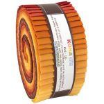 "Kona Cotton Rollups 2.5"" Strips Ratatouille Colourway"
