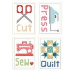 Cut Press Sew Quilt Magnets by Lori Holt by Riley Blake Designs Other Gifts - OzQuilts