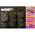 Addi Click Lace Long tip Knitting Needle Set