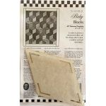 Baby Blocks One Patch Pattern & Template 60 Degree Diamond by Come Quilt with Me Quilt Blocks - OzQuilts