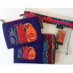 Laurel Burch Set of 3 Storage Bags -Artistic Canvas Canine Friends by Laurel Burch Organisers - OzQuilts