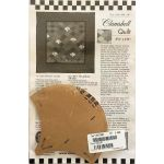 Clamshell One Patch Pattern & Template by Come Quilt with Me Quilt Blocks - OzQuilts