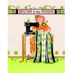 Quilting is My Passion Microfiber Cleaning Cloth by  Cleaning Cloths - OzQuilts