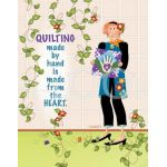 Quilting made by hand is made from the heart Microfiber Cleaning Cloth Pouch by  Cleaning Cloths - OzQuilts