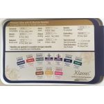 Klasse Needle Tin with 42 Assorted Sewing Machine Needles by Klasse Sewing Machines Needles