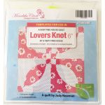 Lover's Knot 6 Inch Template Set - Meredith Clark Designer Collection by Matilda's Own Quilt Blocks - OzQuilts