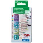 Clover Mini Wonder Clips, 50 Mini Clips by Clover Wonder Clips & Hem Clips - OzQuilts