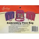 Embroidery Floss Bag<br>Rose Colour by Sew Easy Embroidery - OzQuilts