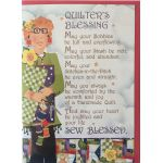 Greeting Card Quilter's Blessing by  Greeting Cards - OzQuilts