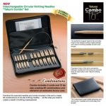 "Clover Interchangeable Circular Knitting Needles ""Takumi Combo Set"""