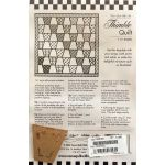 Thimble One Patch Pattern & Template by Come Quilt with Me Quilt Blocks - OzQuilts