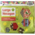 Matilda's Own Large Hexagon Patchwork Template Set by Matilda's Own Geometric Shapes - OzQuilts