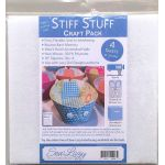 Stiff Stuff 10 inch Squares Craft Pack by Lazy Girl Designs Stabiliser & Interfacing - OzQuilts