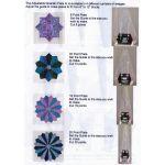 Westalee Adjustable Dresden Plate - 12 Point by Westalee Quilt Blocks - OzQuilts