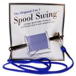 3-n-1 Spool Swing - Spool Holder, Needle Case & Thread Cutter by The Backroom Quilter Organisers - OzQuilts
