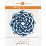 Arabesque Foundation Paper Piecing pattern & papers by Orange Dot Quilts Patterns & Foundation Papers - OzQuilts
