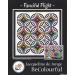 Fanciful Flight Pattern & Foundation Papers by Jacqueline de Jongue by BeColourful Quilts by Jacqueline de Jongue Patterns & Foundation Papers