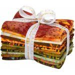 Cornucopia Bali Batik Fat Quarter Pack by Robert Kaufman Fabrics Pre-Cut Fabrics