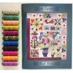 Sue Spargo Eleganza Thread - In Full Bloom Thread Set by Sue Spargo Sue Spargo Eleganza Perle 8 - OzQuilts