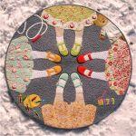 Best Friends Forever Quilt Pattern by JoAnn Hoffman Applique - OzQuilts