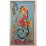 Ebba Seahorse Collage Pattern by Fibreworks Inc Collage  - OzQuilts