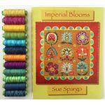 Sue Spargo Eleganza Thread - Imperial Blooms Thread Set by  Sue Spargo Eleganza Perle 8 - OzQuilts