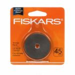 Fiskars 45mm Replacement Rotary Blade for Rotary Ruler Trimmers & Cutters by Fiskars