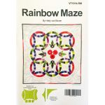 Rainbow Maze Pattern by Hetty van Boven by Hetty Van Boven Quilt Patterns - OzQuilts