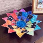 New York Beauty Bowls Pattern by PoorHouse Quilt Designs Table Toppers & Runners - OzQuilts