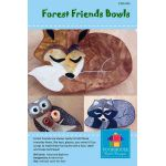 Forest Friends Bowl Pattern by PoorHouse Quilt Designs Table Toppers & Runners - OzQuilts
