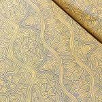 Untitled Gold by Australian Aboriginal artist Nambooka