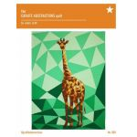 Giraffe Abstractions Quilt Pattern by Violet Craft by Violet Craft Abstractions Patterns Violet Craft - OzQuilts