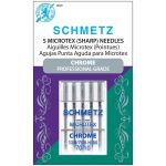 Schmetz Chrome Microtex Needle Size 70/10 by Schmetz Sewing Machines Needles - OzQuilts