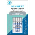 Schmetz Chrome Topstitch Needle Size 90/14 by Schmetz Sewing Machines Needles - OzQuilts
