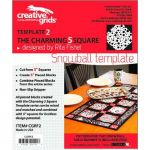 Creative Grids Snowball Template