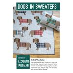Dogs in Sweaters Quilt Pattern by Elizabeth Hartman Quilt Patterns - OzQuilts